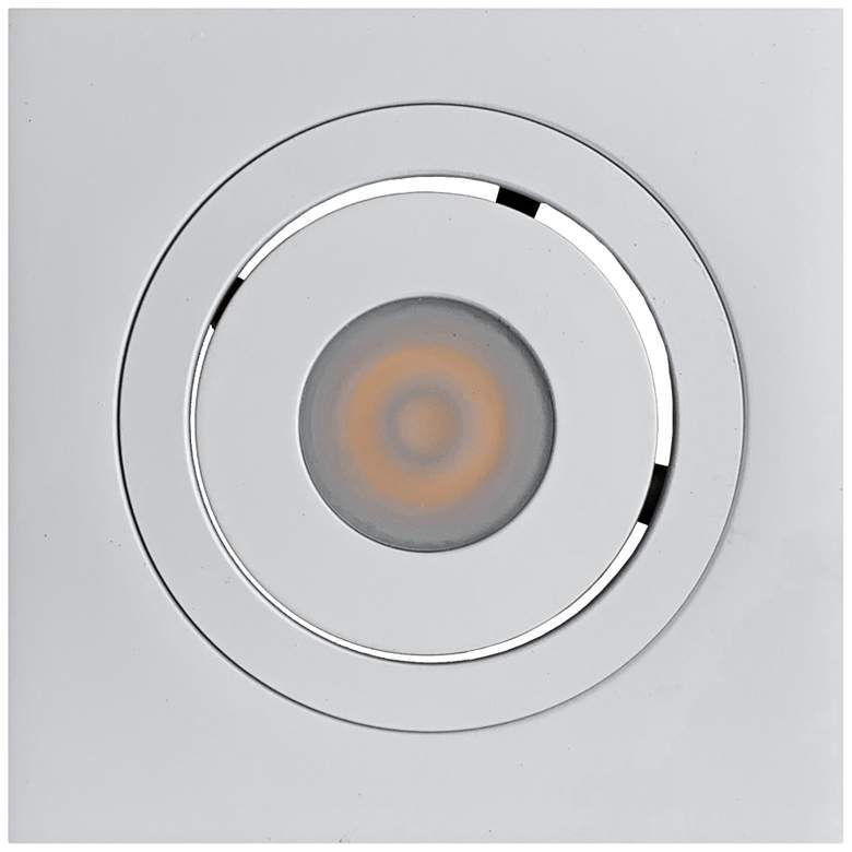 """Selbo 2 1/2""""W White LED Recessed Mount Under"""