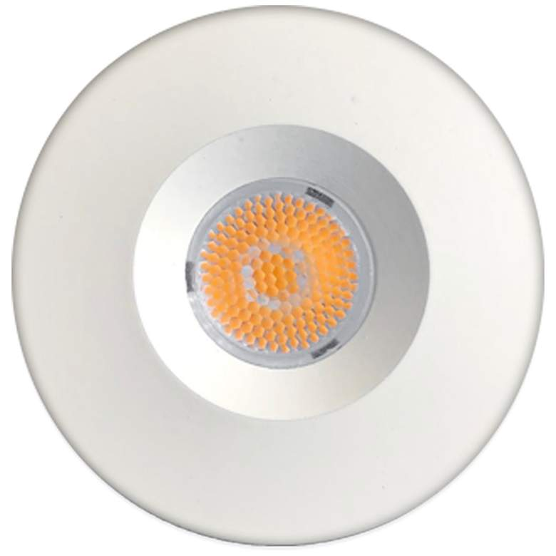 "Tanger 1 3/4""W White LED Recessed Mount Under Cabinet Light"
