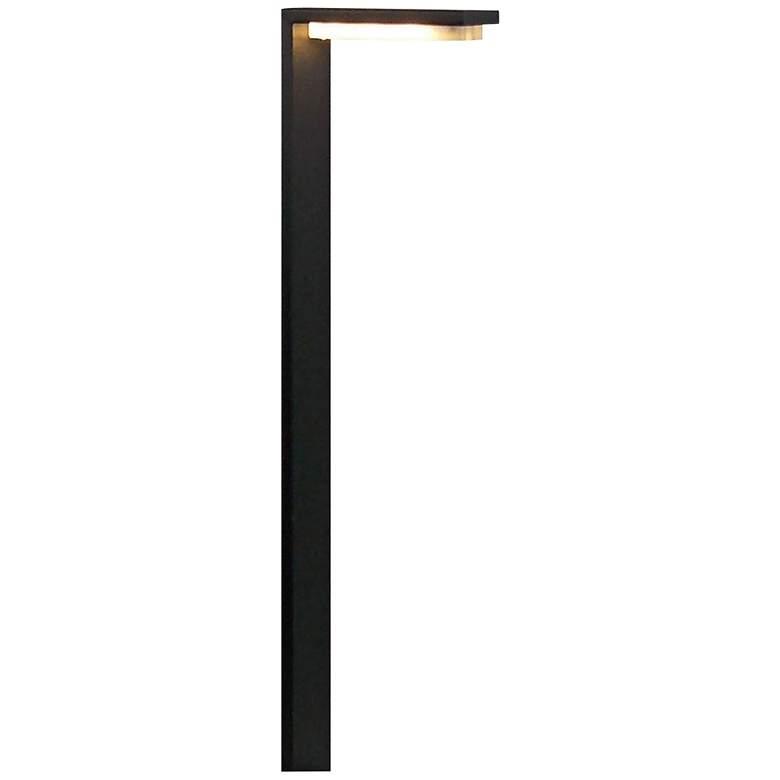 "Solara 24"" High Black 12V LED Landscape Path"