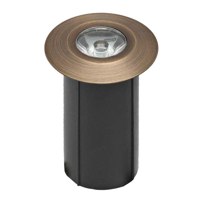 Pitta Cast Brass LED Underground Well Light