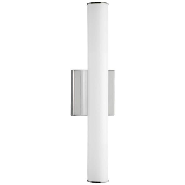 """Maxim Rail LED 18"""" High Polished Chrome Wall Sconce"""