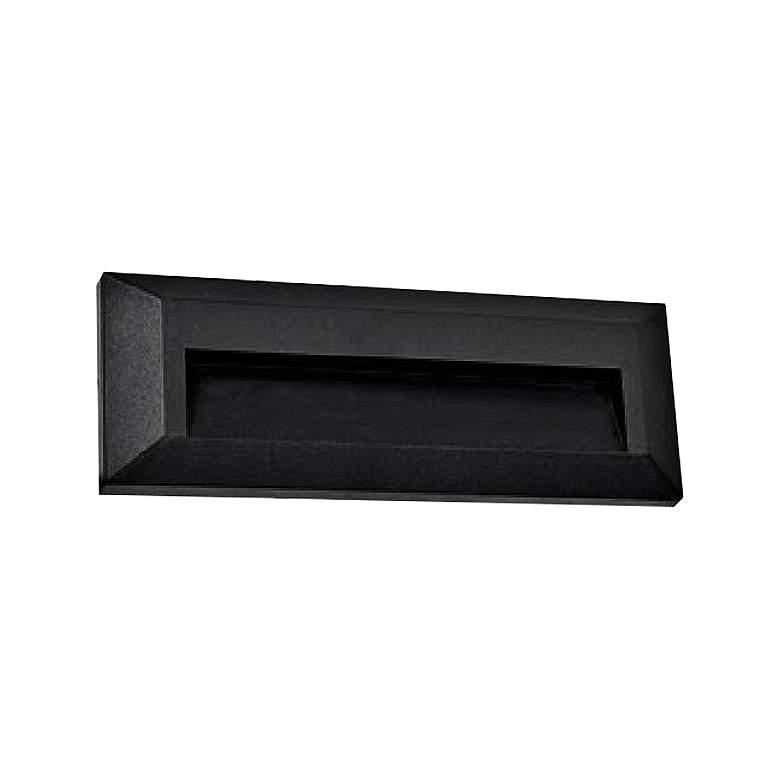 "Kullum 9"" Wide Black LED Edge Step Light"