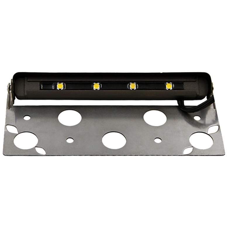 """Eden 7"""" Wide Aluminum Adjustable LED Step Light"""