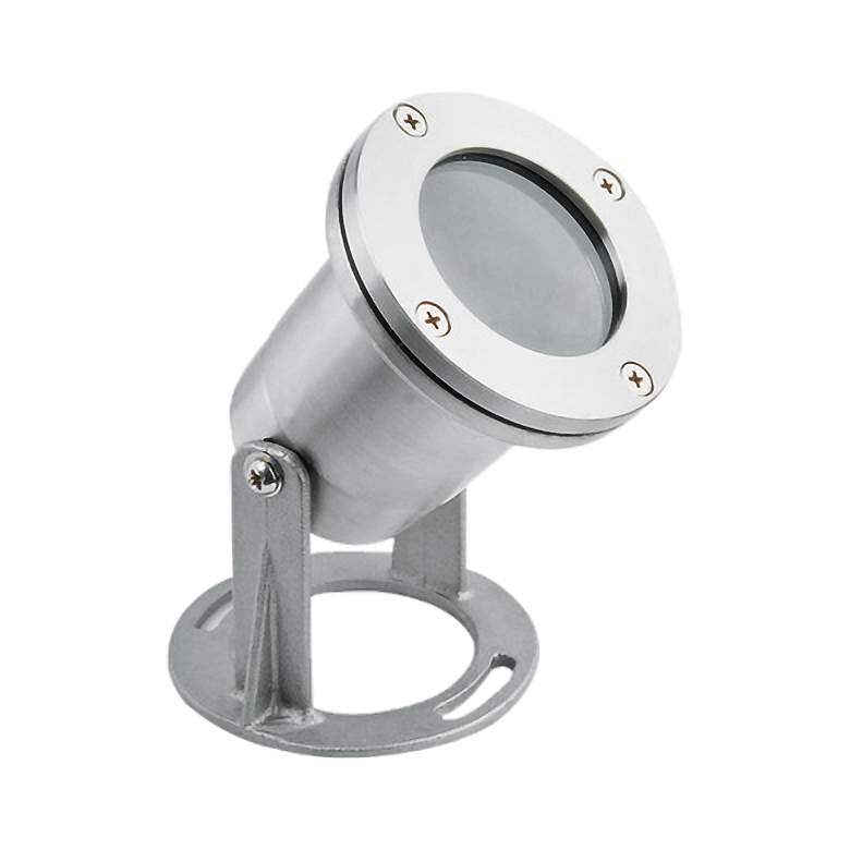 "Sebbas 3 3/4"" High Stainless Steel Underwater Spot Light"