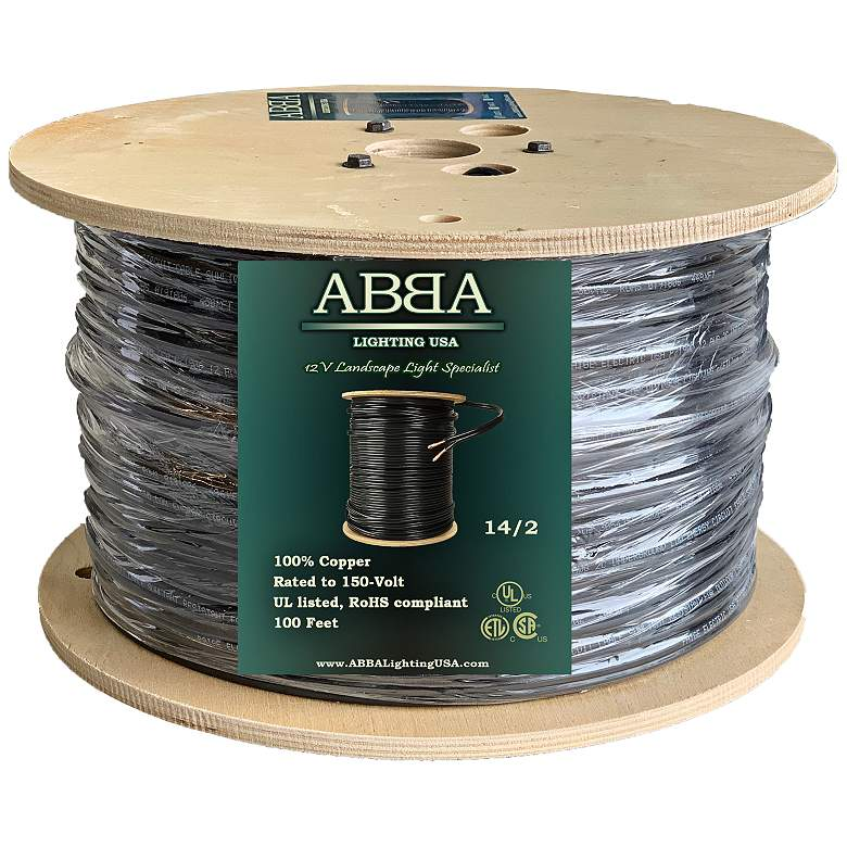 14/2 (14 AWG, 2 Conductor) 100 Feet Copper Landscape Wire