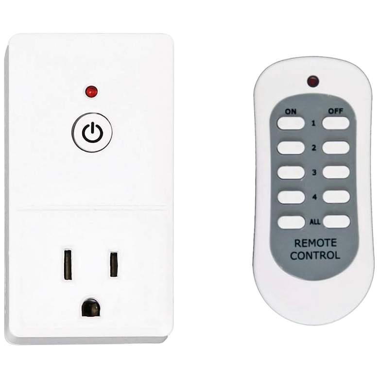 Tesler E-Z Control White 1-Plug Wireless Remote Wall