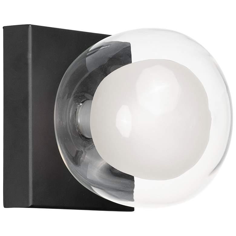 "ET2 Pod 4 3/4"" High Black LED Wall Sconce"