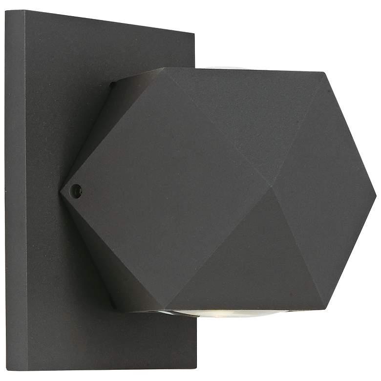 """ET2 Alumilux 4 3/4"""" High Bronze 6W LED Outdoor Wall Light"""