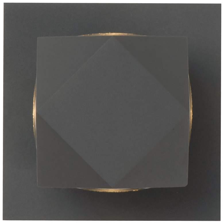 """ET2 Alumilux 4 3/4"""" High Bronze 12W LED Outdoor Wall Light"""