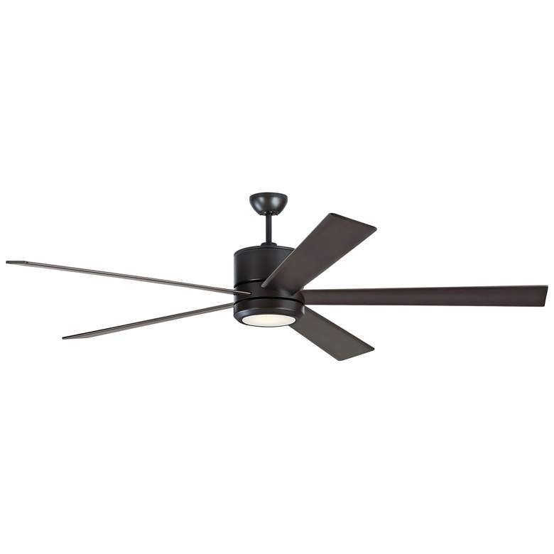 "72"" Monte Carlo Vision 72 Oil-Rubbed Bronze LED Ceiling Fan"