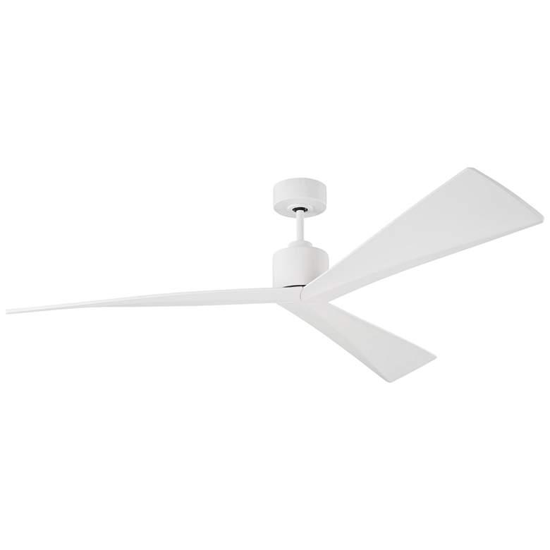 """60"""" Monte Carlo Adler Matte White Ceiling Fan"""