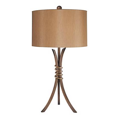 Ambience Iron Tripod Contemporary Table Lamp