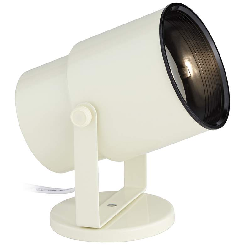 "Pro Track Almond White 8"" High PAR20 LED Accent Uplight"