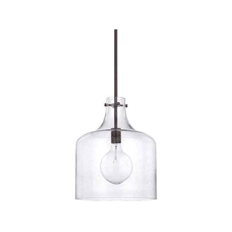 "Capital Homeplace 11 3/4"" Wide Bronze Mini Pendant Light"