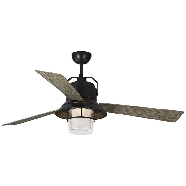 "54"" Boynton Antique Bronze LED Outdoor Ceiling Fan"