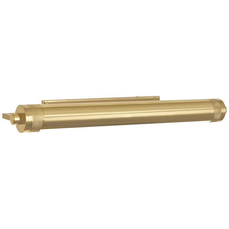 "Wyatt 24 1/2"" Wide Modern Brass Plug-In Picture Light"