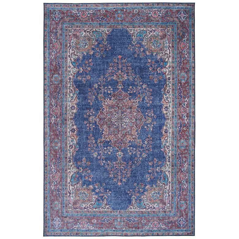 """Kaleen Boho Patio BOH09-17 5'x7'6"""" Blue Denim Area Rug"""