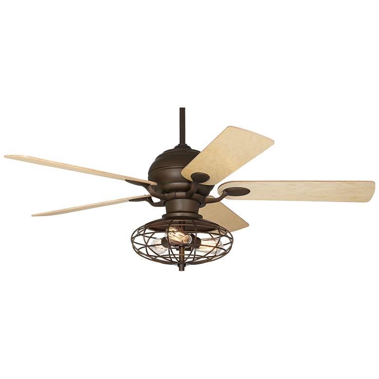 "52"" Casa Optima Oil-Rubbed Bronze LED Ceiling Fan"