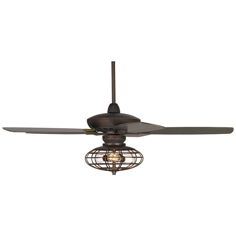 """52"""" Casa Journey® Oil-Rubbed Bronze LED Ceiling Fan"""