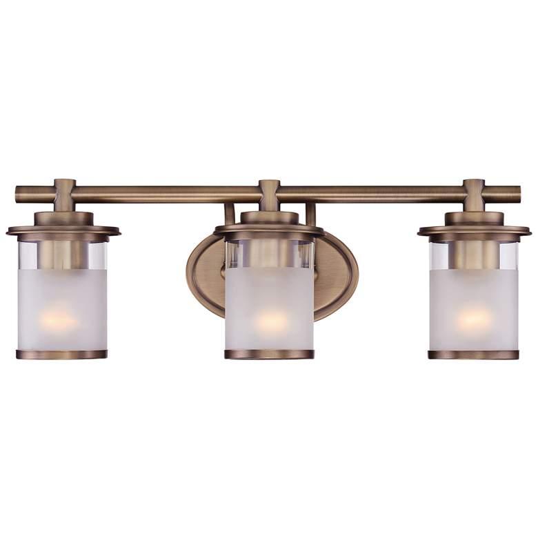 "Essence 23 1/4"" Wide Satin Bronze 3-Light Vanity Bath Light"