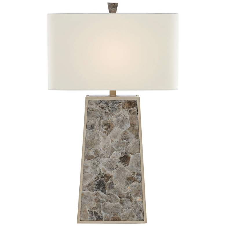 Currey and Company Calloway Light Mica Table Lamp