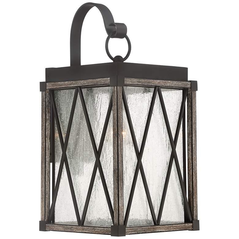 "Possini Euro Brawley 20 1/2""H Lantern Outdoor Wall Light"