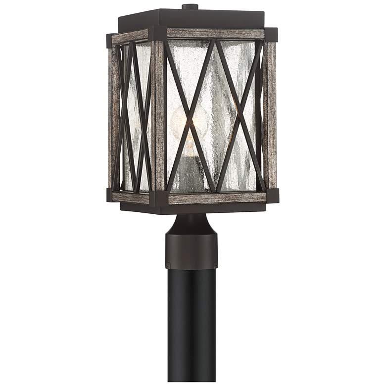"Possini Euro Brawley 16""H Lantern Outdoor Post Light"