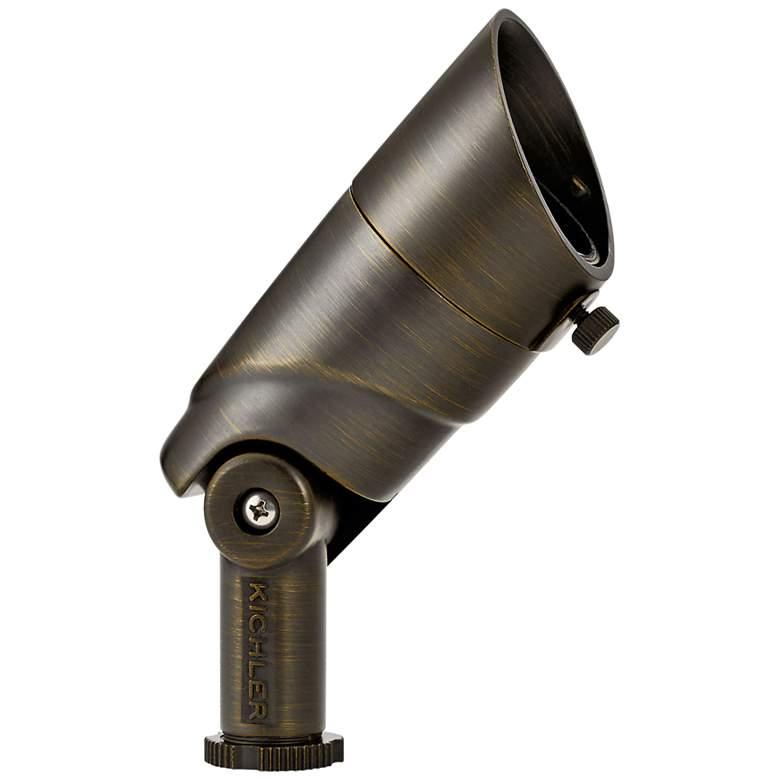 """VLO 3 3/4""""H Centennial Brass 2700K LED Accent Flood Light"""