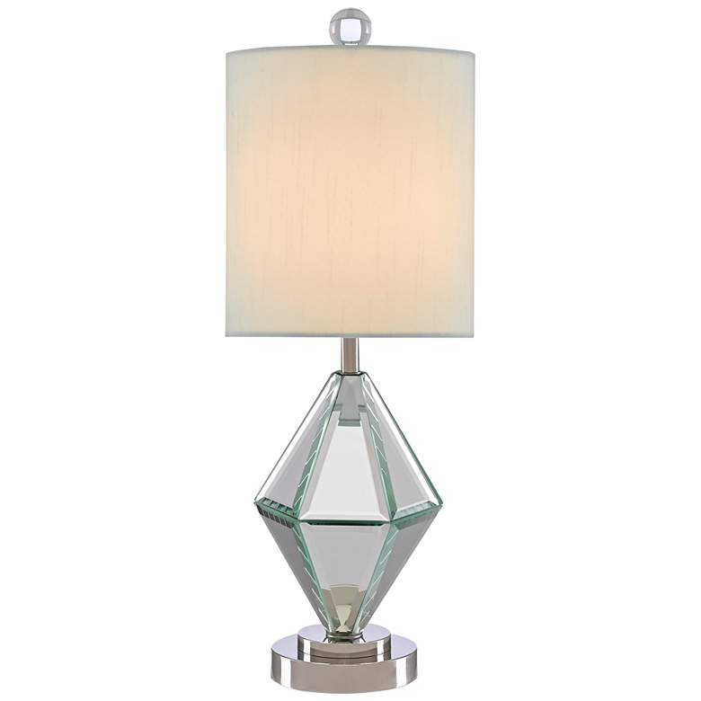 """Alexia 17 1/2"""" High Mirrored Accent Table Lamp"""