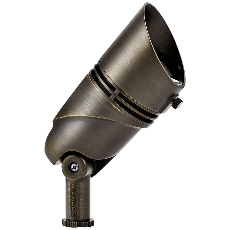 """VLO 4 1/2""""H Centennial Brass 2700K LED Accent Flood Light"""