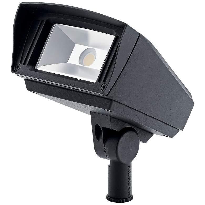 """VLO 7"""" High Textured Black 3000K LED Landscape Flood Light"""