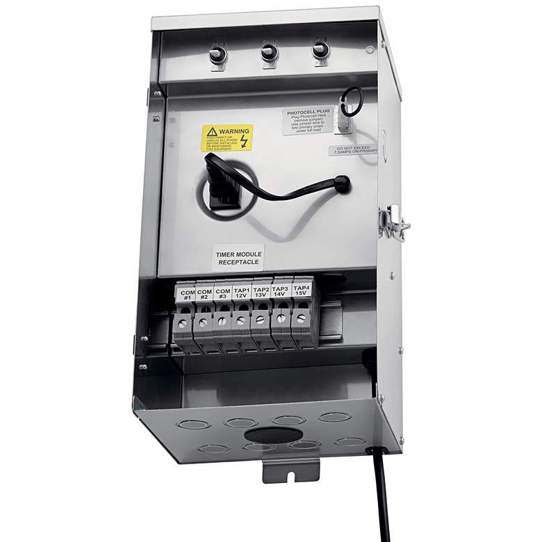 Kichler Contractor Series 900W Stainless Steel Transformer