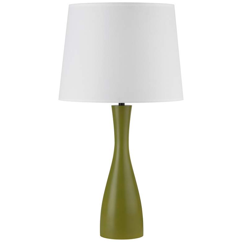 Lights Up! Oscar Grass Table Lamp with White