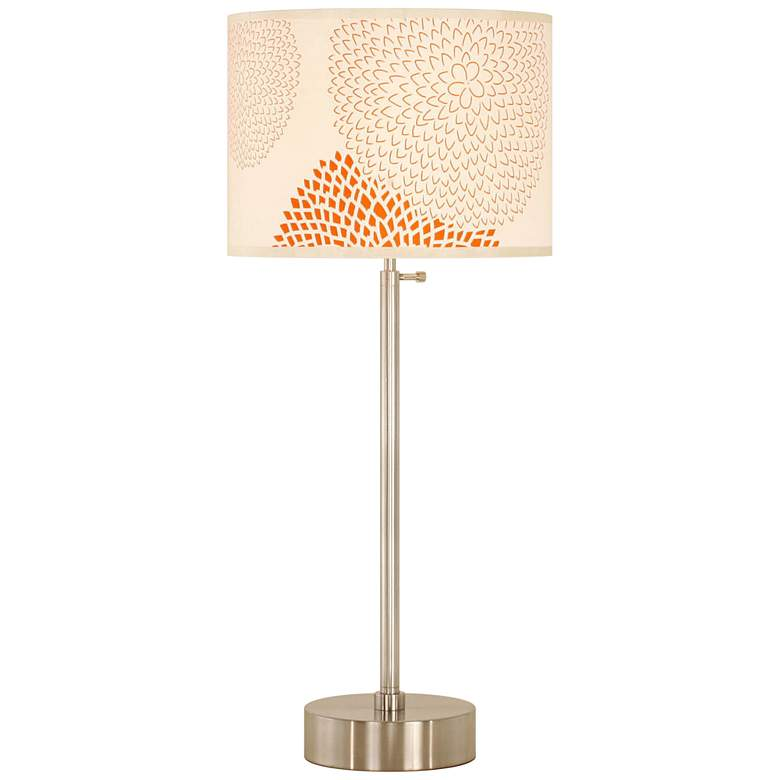 Lights Up! CanCan Red Mumm Adjustable Table Lamp