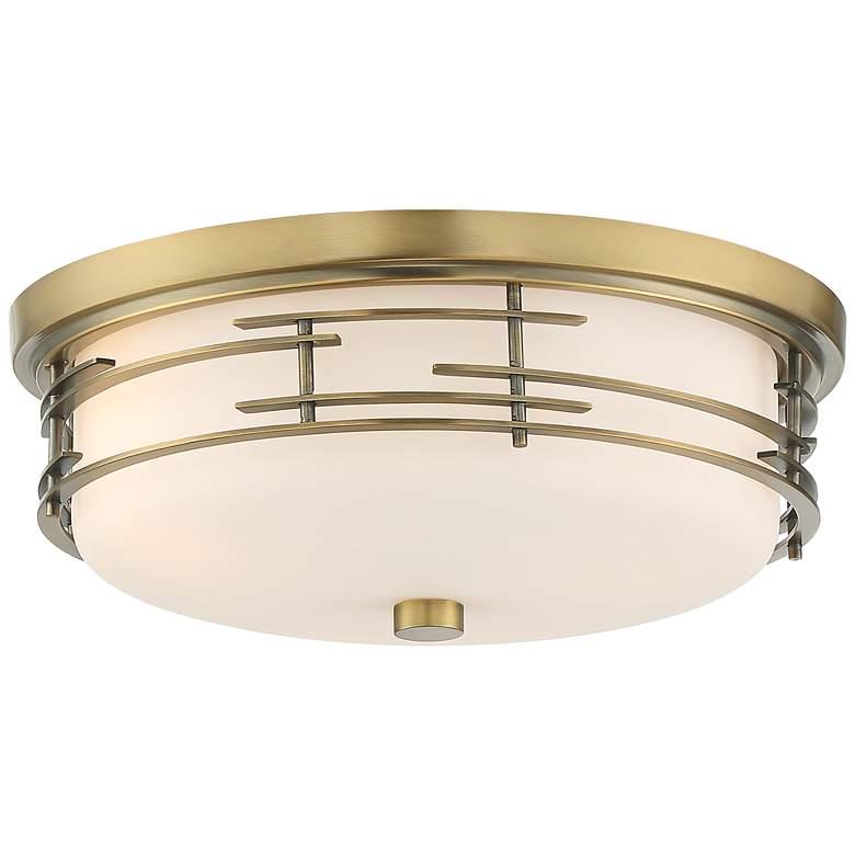 "Arden 14"" Wide Soft Gold Ceiling Light"
