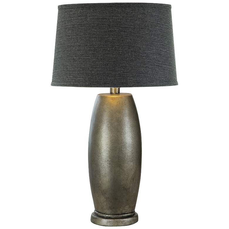 Ansnes Ore Metal Hydrocal Table Lamp