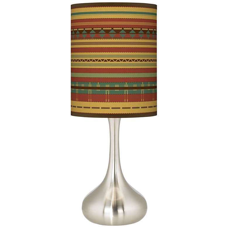Southwest Desert Giclee Droplet Table Lamp