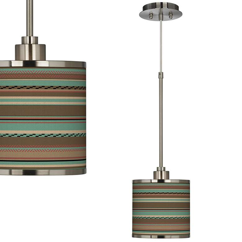 Southwest Shore Giclee Glow Mini Pendant Light