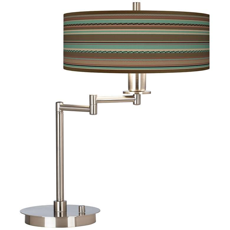 Southwest Shore Giclee CFL Swing Arm Desk Lamp