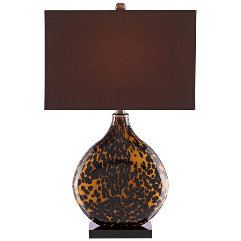 Currey and Company Nonni Tortoise Glass Table Lamp