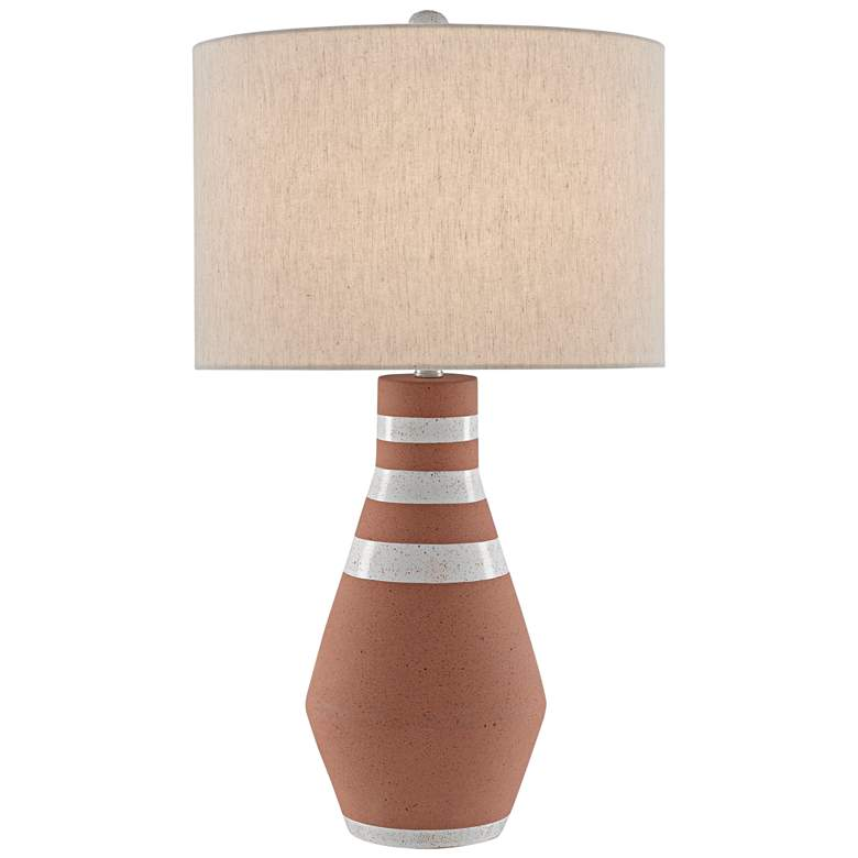 Currey and Company Remont Speckled Terracotta Table Lamp