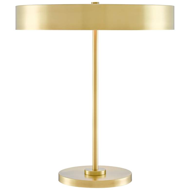 Currey and Company Cernealia Brushed Brass Accent Table Lamp