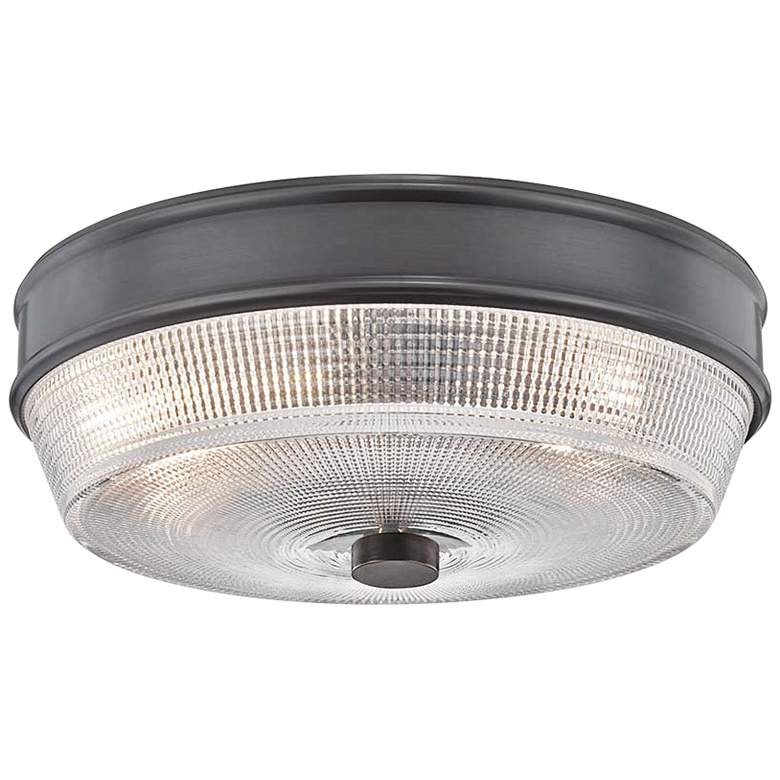 "Mitzi Lacey 10 1/4"" Wide Old Bronze Ceiling Light"