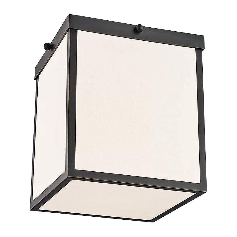"Mitzi Monica 8 1/4"" Wide Old Bronze LED Ceiling Light"