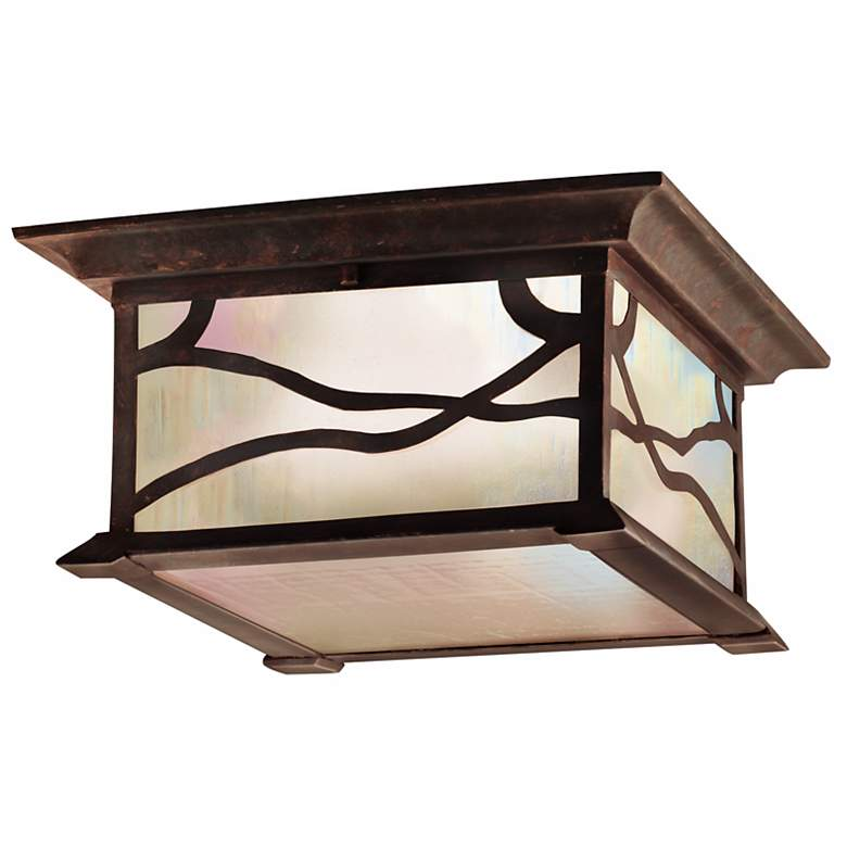 """Kichler Mission Arts and Crafts 12""""  Ceiling Light"""
