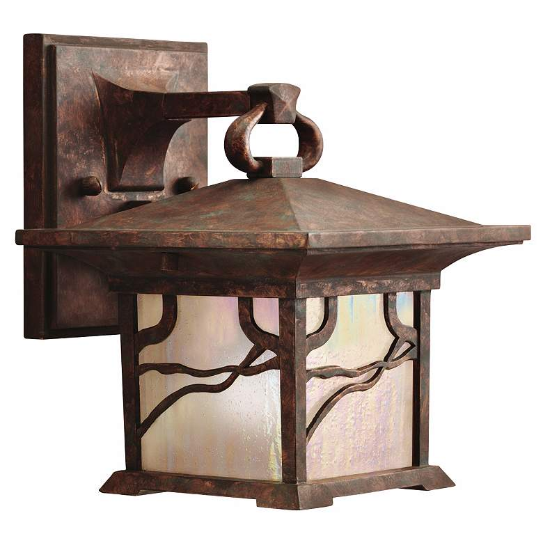 """Kichler Mission Copper 8 1/2"""" High Outdoor Wall"""