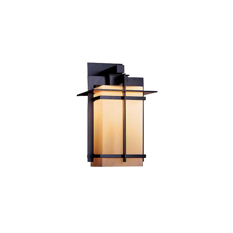 "Hubbardton Forge Tourou Bronze 14"" High Outdoor Wall Sconce"