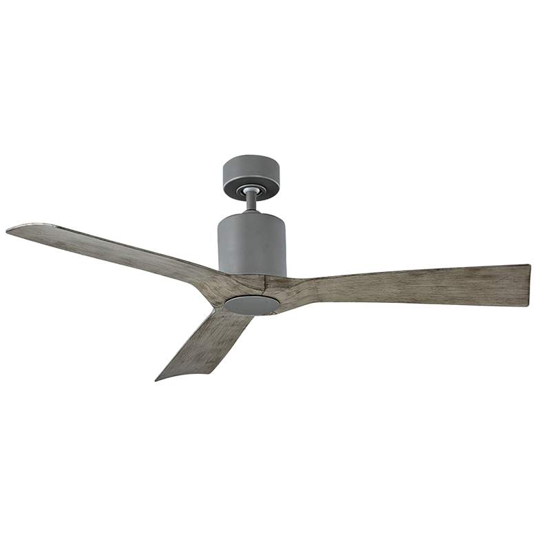 """54"""" Modern Forms Aviator Graphite Outdoor Ceiling Fan"""