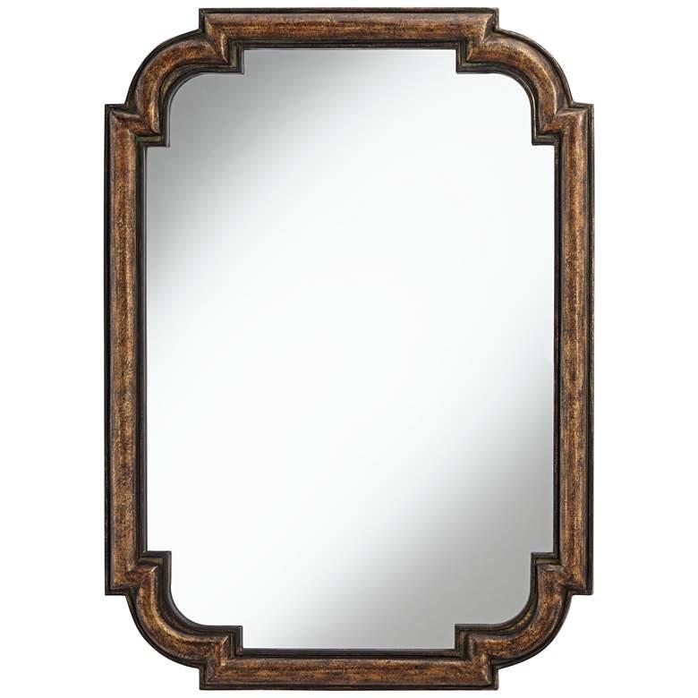 """Uttermost Lindi 30"""" x 41 1/2"""" Bronze Wall Mirror"""