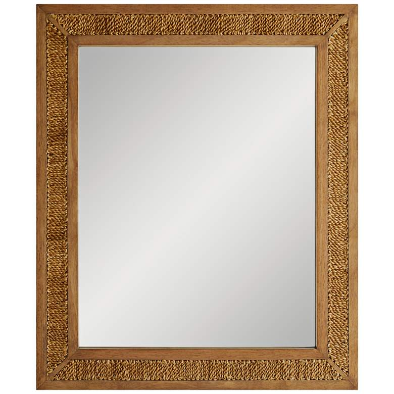 """Arteriors Home Vendee Golden Stained 30"""" x 36"""" Wall Mirror"""
